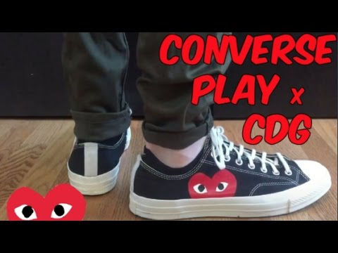 converse play on feet