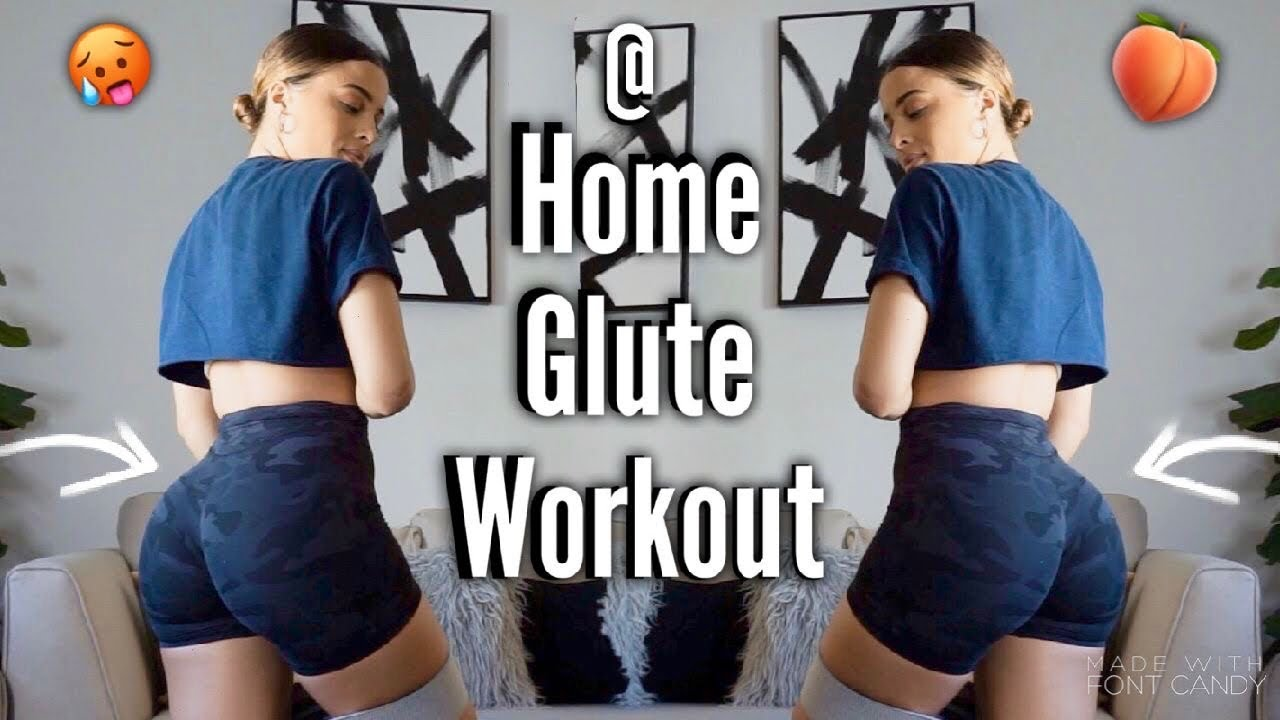 GROW YOUR GLUTES AT HOME W/ RESISTANCE BANDS