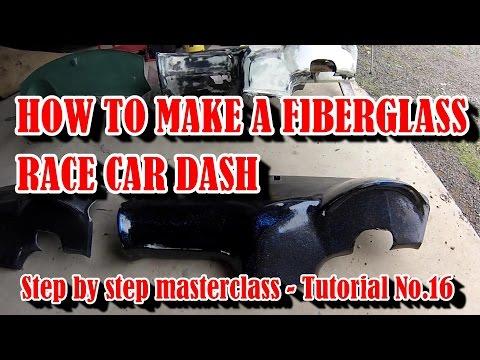 How to Make a Fiberglass Car Dash