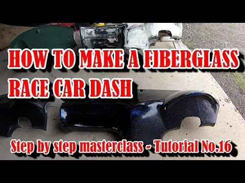 How To Make A Fiberglass Car Dash