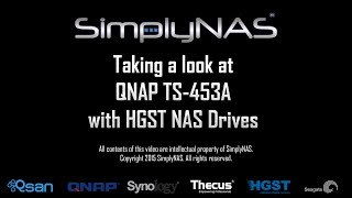 qnap ts 453a integrated with hgst nas drives discussing specification and features