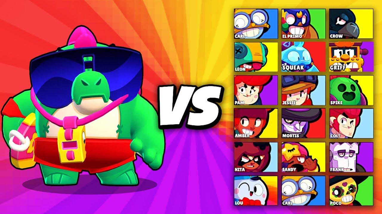 BUZZ vs ALLE BRAWLER IM 1 VS 1! (BUZZ viel zu OP?! 😱) ★ Brawl Stars deutsch