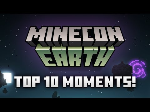 Top Ten Moments Of MINECON Earth 2017
