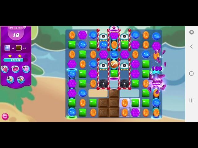 Candy Crush Saga level 5087
