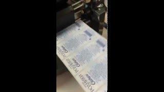 видео Печатные материалы для термотрансферного промышленного принтера Zebra ZM600