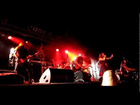 Amberian Dawn - Shallow Waters, Live @ LiveMusicHall, Cologne, 11.10.2011
