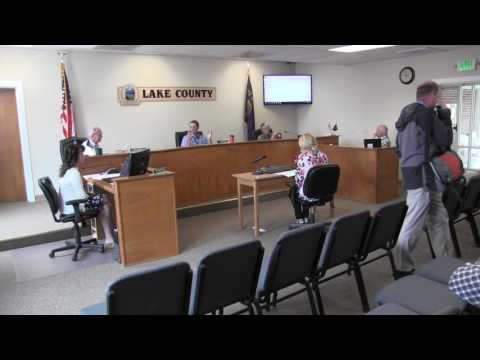 Lake County Commissioners special session 5-31-2017
