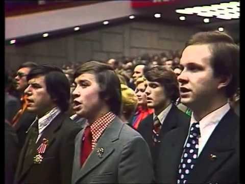 The internationale in Soviet Union National Congress 1978 (Интернационал)