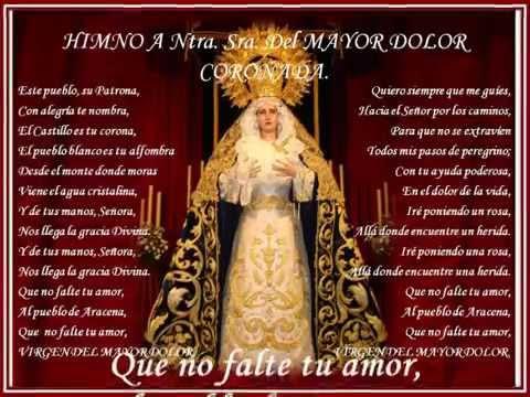 Himno a Ntra  Sra  del Mayor Dolor, Patrona de Aracena