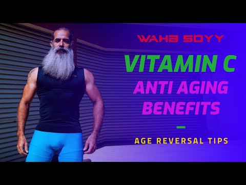 VITAMIN C Anti Aging Benefits! Strength, recovery and metabolism!