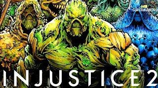 "SWAMP THING MAKES HIM RAGE QUIT! - Injustice 2 ""Swamp Thing"" Gameplay"