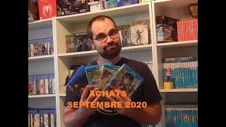 Achats Septembre 2020 (Ps4,Switch,Wii U,...)