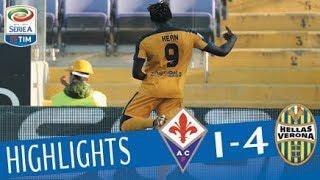 Fiorentina - Verona 1-4 - Highlights - Giornata 22 - Serie A TIM 2017/18