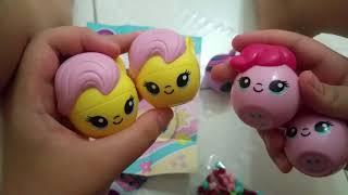 My Little Pony Radz Twistz candy dispenser blind bag part 5 + My Little Pony Pez Candy blind bag