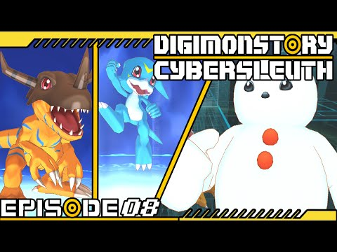 Digimon Story : Cyber Sleuth - Ep 8 : Poyomon & Time Capsule