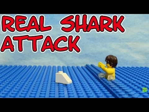 Lego the real Shark Attack stop motion seratus1 Brickfilm Hai Angriff