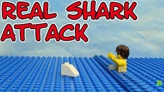 Lego the real Shark Attack stop motion seratus1 Brickfilm Hai Angriff