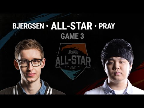 Bjergsen Draven vs Pray Draven Game 3 | 1v1 Semi-Final All-Star 2015 Los Angeles Day 3