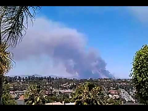 Oceanside California Fires May 14 2014 Don't Stop Online Business. What's your Back-Up Plan?