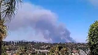 Oceanside California Fires May 14 2014 Don