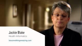 Career Spotlight: Jackie Blake, Health Informatics