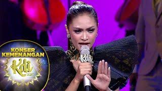 PECAAH! Suara dan Aksi Panggung Gita Keren Banget [SENI] - Konser Kemenangan KDI 2020