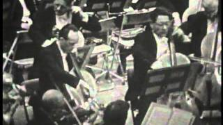 Karajan, Vienna Phil Brahms symphony No.1 カラヤンブラームス交響曲第1番 1959.10.27