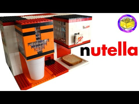 Lego Orange Juice and Nutella Breakfast Machine