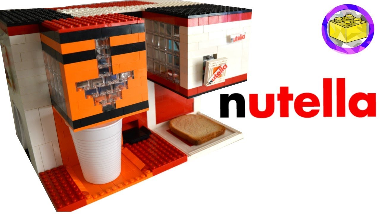 lego orange juice and nutella breakfast machine youtube
