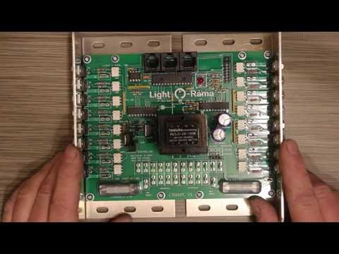 Light O Rama Computerized Christmas Lighting Controller Diy Kit Build Part  The Build Youtube