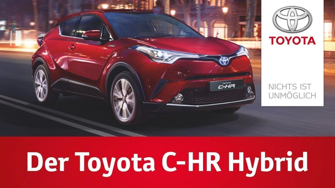Der Toyota C-HR | HYBRID UN=PLUGGED | Innovatives Fahrerlebnis