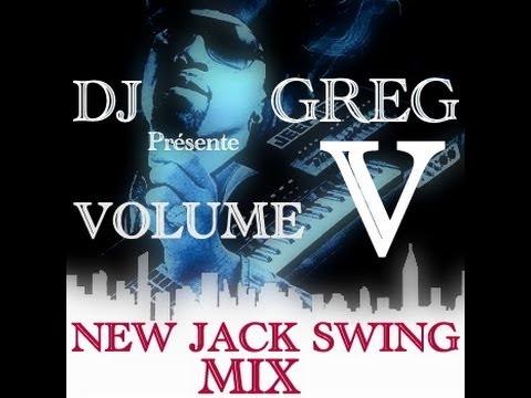 ✅  NEW JACK SWING MIX.Vol.5 (JODECI,LA RUE,AARON HALL...)