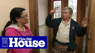 How to Weatherstrip an Exterior Door | This Old House