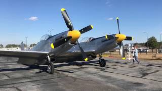 XP-82 Twin Mustang First Official Flight [ EXCLUSIVE FIRST VIDEO]