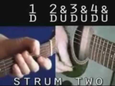 Guitar60All Strumming Patternswmv YouTube Impressive Wagon Wheel Strumming Pattern