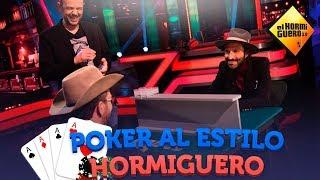 Pablo Motos y Leiva juegan al poker estilo Hormiguero - El Hormiguero