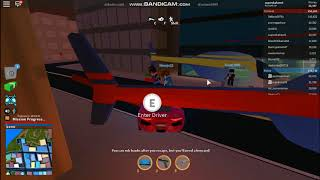 I GOT ARRESTED (ROBLOX JAILBREAK)
