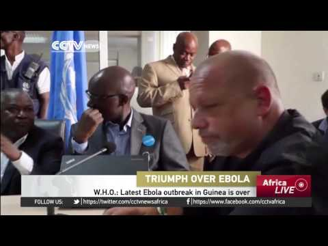 WHO: Latest Ebola outbreak in Guinea is over