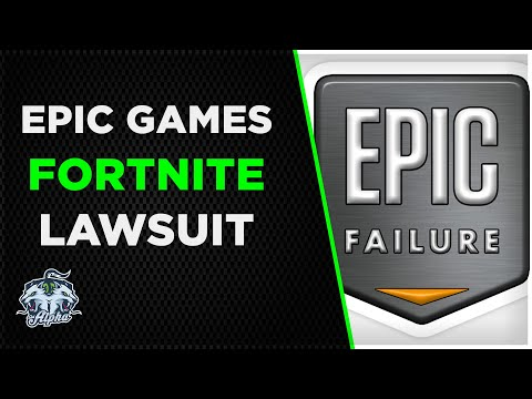 Epic Games in ANOTHER lawsuit, this time over Fortnite Video Game Addiction
