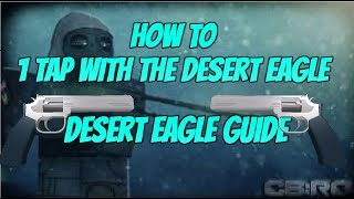 Roblox CBRO Tips & Tricks {How to 1 Tap With The Desert Eagle and Desert Eagle Guide!}
