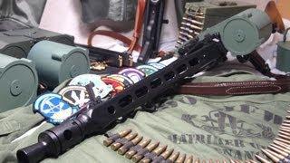"""アニメ「ストライクウィッチーズ」に登場する""""MG42S""""を作ってみました。 MG42SはMG42をウィッチにより適した武器にする為に色々な改修が施された物..."""