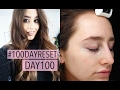 #100 DAY RESET DAY 100 UPDATE | ENVIRON JANE IREDALE | FASHION SLAVE