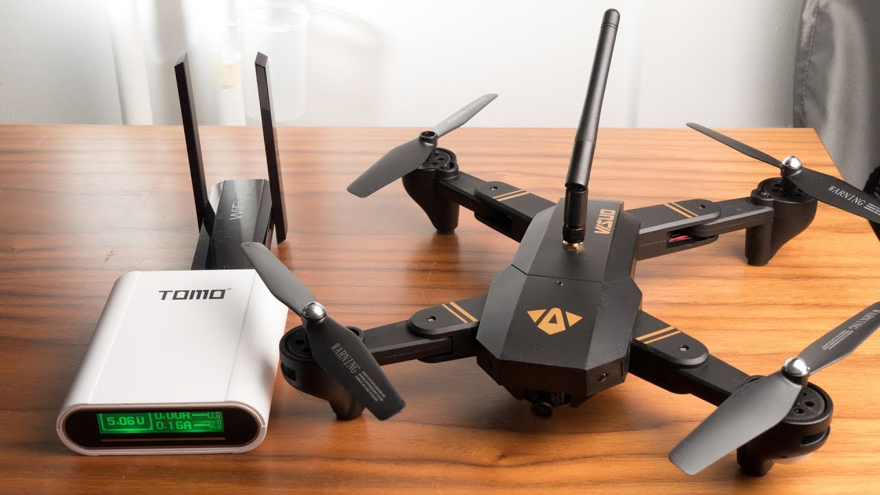 Visuo xs809hw - 2 kilometer range flight - with external wifi antenna