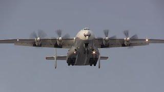 Antonov An-22 - Takeoff & Landing
