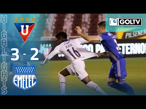 LDU Quito Emelec Goals And Highlights