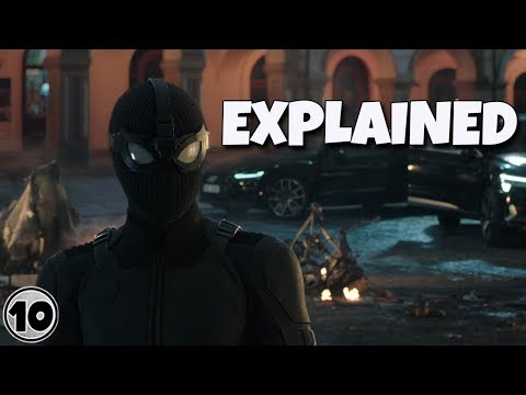 Spider-Man: Far From Home Trailer Explained