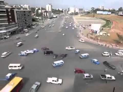 Busiest intersection and craziest driving