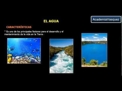 Agua: Estructura, Características