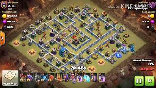100% Attack Streatgy On Th12 Dragon Attack