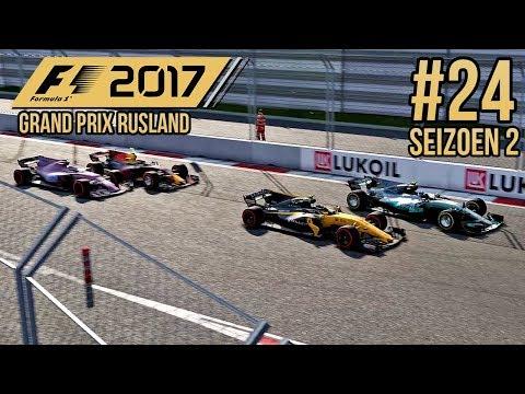 SAFETY CAR GEEFT MIJ EEN 2e KANS - F1 2017 Career Mode #24 (Seizoen 2: Rusland)